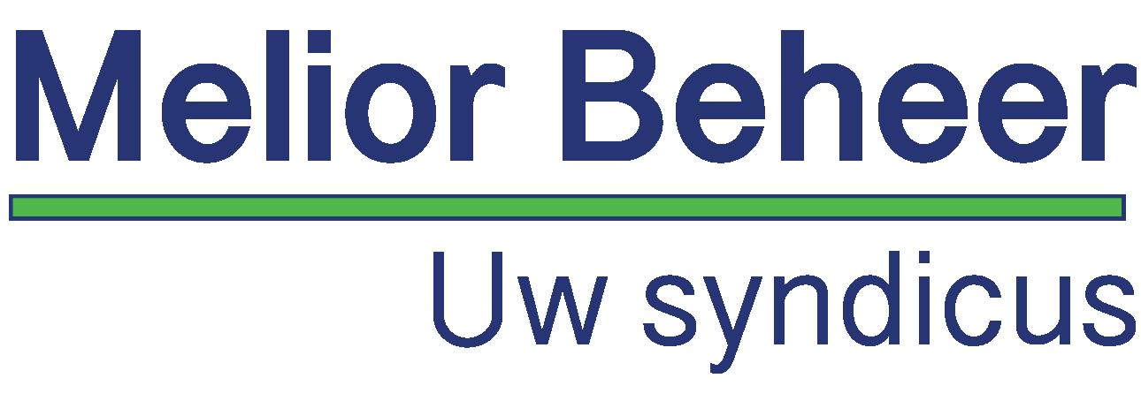 Logo omschrijving syndicus Melior Beheer